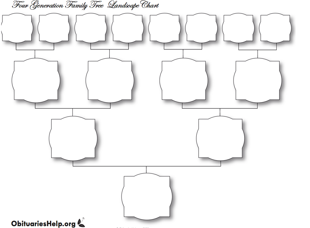 Blank Family Tree Printable And Blank Family Tree Printable