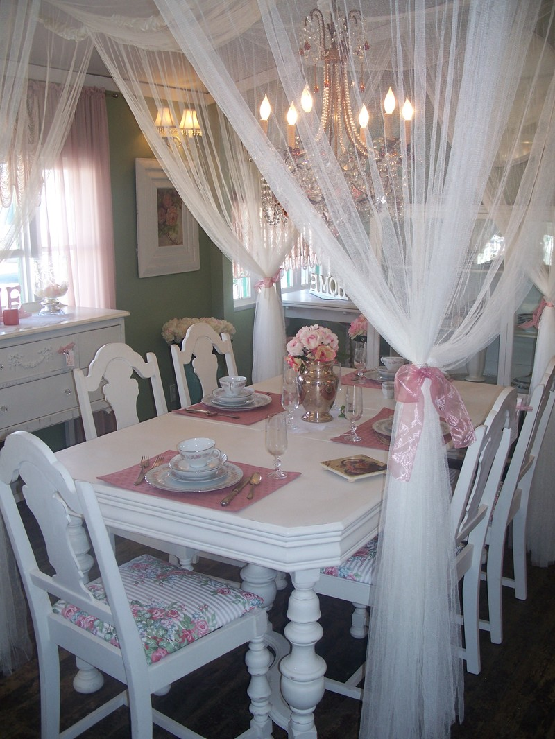 Shabby Chic Dining Room | 800 x 1066 · 227 kB · jpeg
